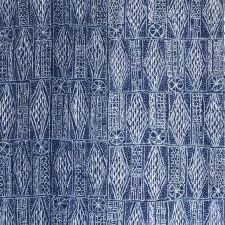 Le ndop, tissu bamiléké du Cameroun