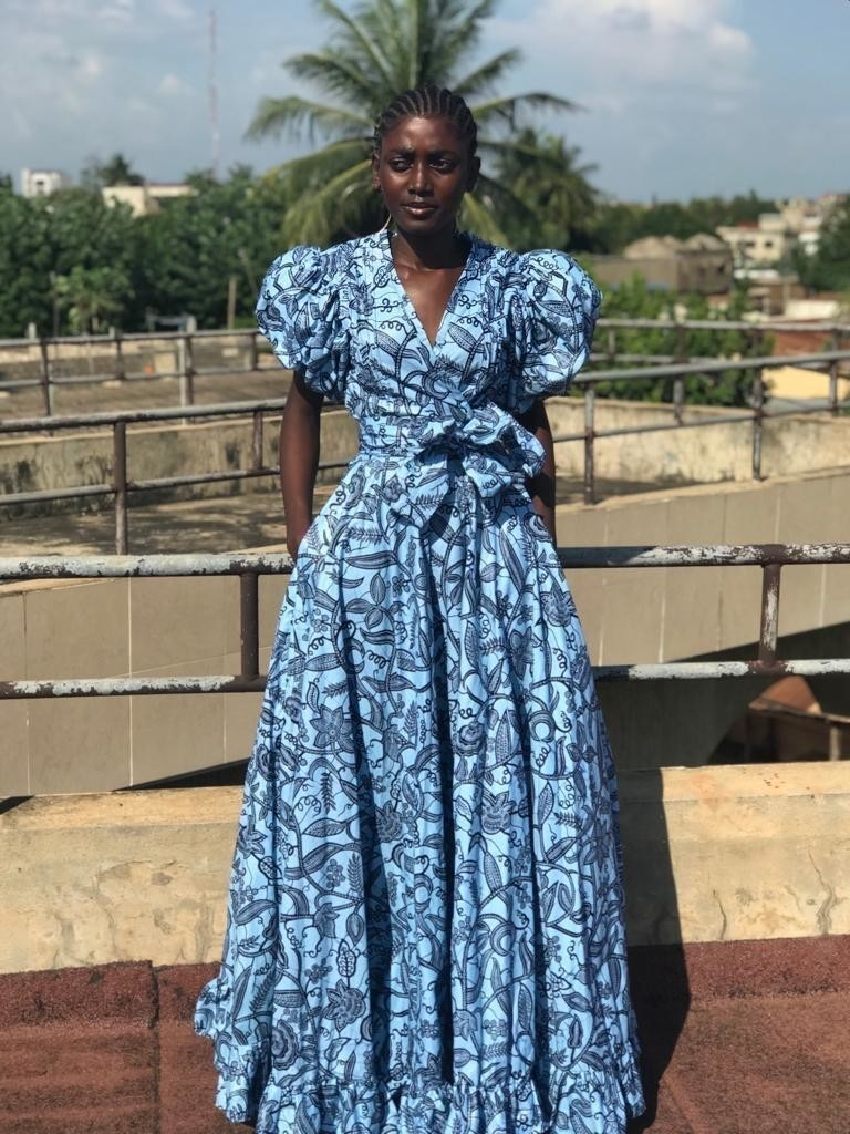 Galerie Robes En Pagne Wax African Print Dress Pagnific